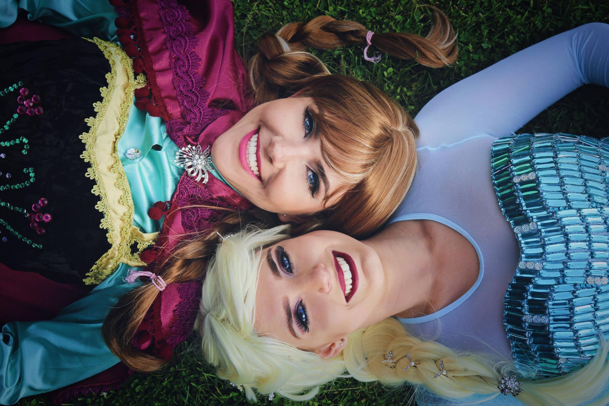 Anna And Elsa, Frozen Princess Party By Real Dream, Party Planner